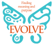 Evolve - Finding meaning and purpose - logo